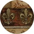 Thirstystone 'Duel Fleur de Lis' Sandstone Coasters (Set of 4)
