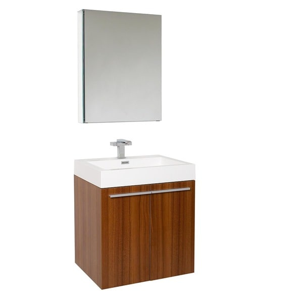 Comteak Bathroom Vanity : Fresca Alto Teak Bathroom Vanity Set - 13034128 - Overstock.com ...