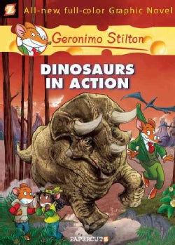 Geronimo Stilton 7: Dinosaurs in Action (Hardcover)