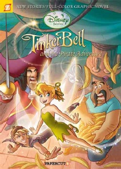 Disney Fairies 5: Tinker Bell and the Pirate Adventure (Hardcover)