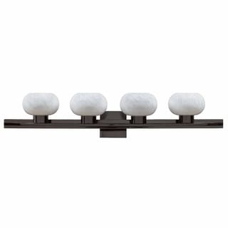 Atomique 4-light Gunmetal Grey Bath Fixture