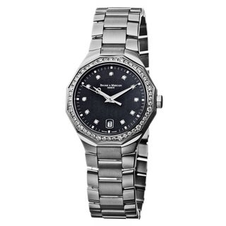 Baume & Mercier Women's 'Riviera' Stainless Steel Quartz Watch