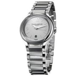 Baume & Mercier Women's 'Ilea' Stainless Steel Quartz Diamond Watch