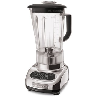 KitchenAid RKSB580CR Chrome 5-Speed Blender with 56-Ounce Polycarbonate Jar (Refurbished)