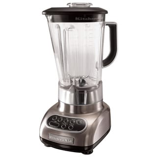 KitchenAid RKSB580NK Nickel 5-Speed Blender with 56-Ounce Polycarbonate Jar (Refurbished)