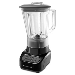 KitchenAid RKSB465OB Onyx Black 4-Speed Blender with 48-oz Polycarbonate Jar (Refurbished)
