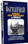 Battlefield Great Sea Battles Of WWII (DVD)