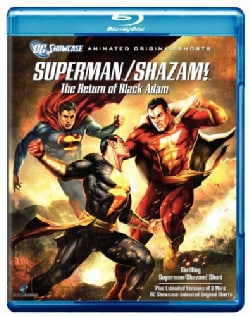 Superman/Shazam!: The Return of the Black Adam (Blu-ray Disc)