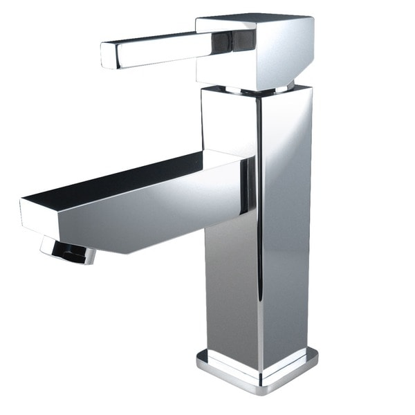 Fresca Bevera Single Hole Mount Chrome Vanity Faucet