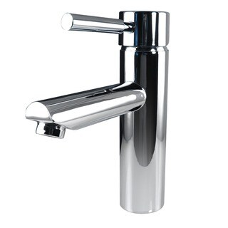 Fresca Tartaro Single Hole Mount ChromeVanity Faucet