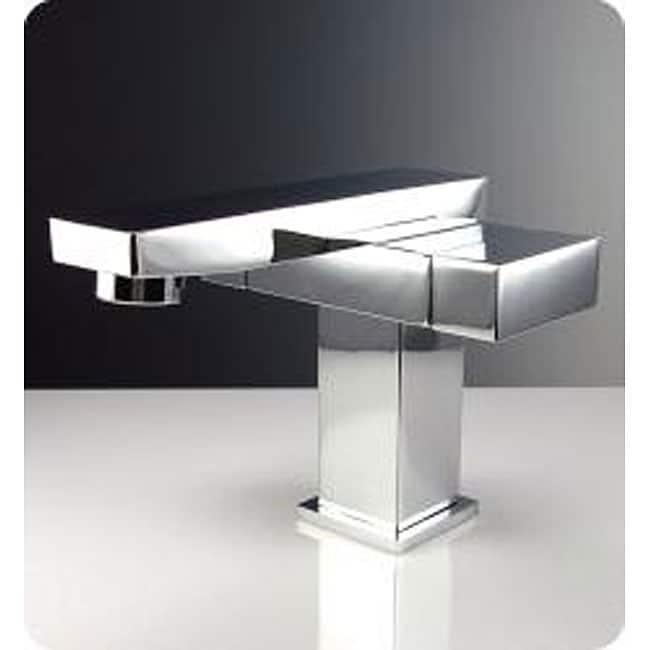 Fresca Orba Single Hole Mount Chrome Bathroom Faucet