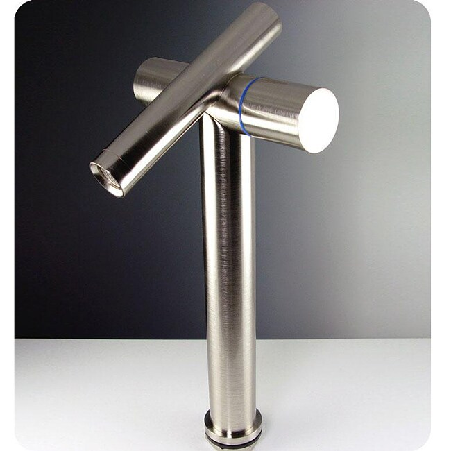 Fresca Trebia Nickel Bathroom Faucet