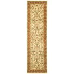 Safavieh Lyndhurst Collection Oriental Ivory/ Rust Runner (2'3 x 12')