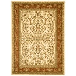 Safavieh Lyndhurst Collection Oriental Ivory/ Rust Rug (9' x 12')