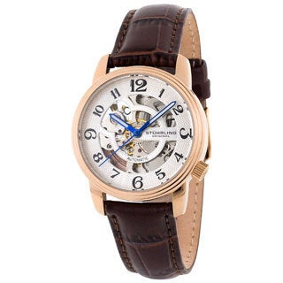 Stuhrling Original Women's 'Othello' Rosetone Automatic Watch