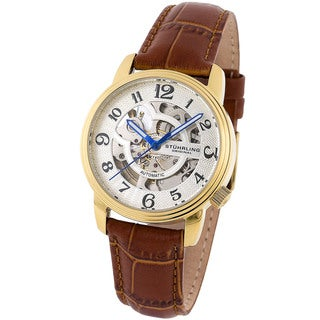 Stuhrling Original Women's 'Othello' Goldtone Automatic Watch