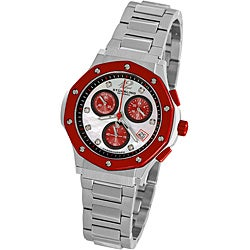 Stuhrling Original Women's Red Cosmo Lady Chronograph Watch