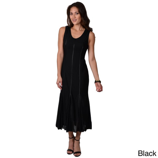 Rossini Women's Sleeveless Maxi Evening Dress