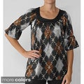 Together by Adi Women's 3/4-sleeve Tunic