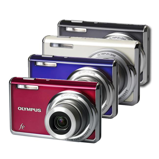 Olympus FE-5020 12MP Digital Camera with Bonus Kit (Refurbished)