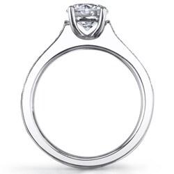 14k White Gold 3/4ct TDW Diamond Engagement Ring (G-H, SI1-SI2)
