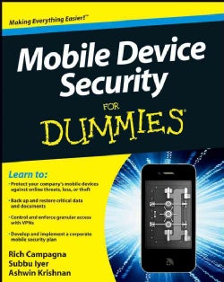 Mobile Device Security for Dummies (Paperback)