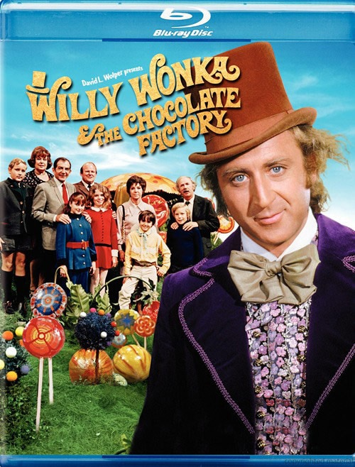 Willy Wonka & the Chocolate Factory (Blu-ray Disc)