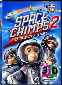 Space Chimps 2 3D (DVD)