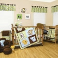 Trend Lab Chibi Zoo 6-piece Crib Bedding Set