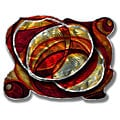 Ash Carl 'Enkindling Hearth' Metal Wall Art