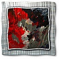 Pol Ledent 'Red Kiss' Metal Wall Art