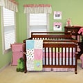 Trend Lab Cupcake 6-piece Crib Bedding Set
