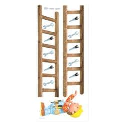 Bob the Builder Peel and Stick Growth Chart