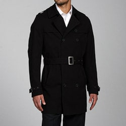 Ferrecci Men's Cotton Rain Coat