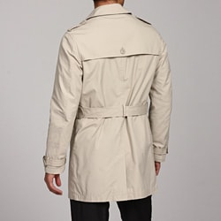 Ferrecci Men's Belted Raincoat