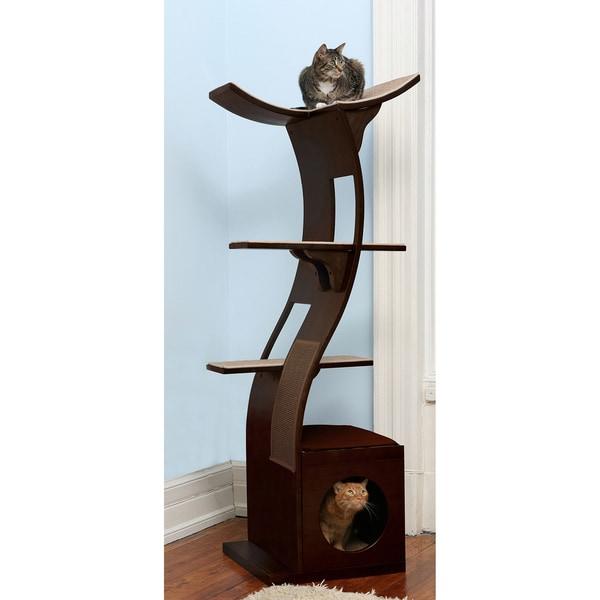 The Refined Feline's Lotus Cat Tower