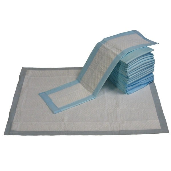 GoPetClub 23x36-inch 300-ct Puppy Dog Blue Training Pads