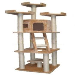 Go Pet Club 78-inch Condo House Cat Tree Furniture