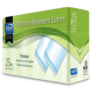 Inspire Premium 4x10-inch Absorbent Liners (Case of 250)
