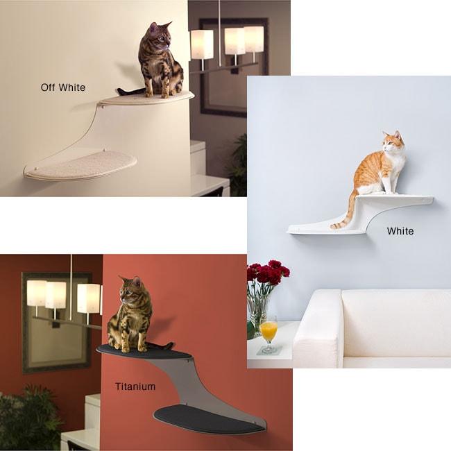 The Refined Feline Cat Clouds Cat Shelf