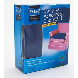 Inspire Reusable Absorbant 18x24-inch Chair Pad