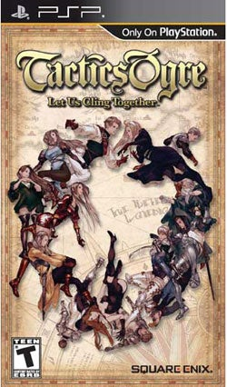 PSP  - Tactics Ogre:Let Us Cling Together - By Square Enix