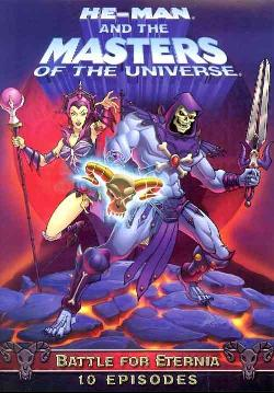 He-Man and the Masters of the Universe: The Battle for Eternia (DVD)