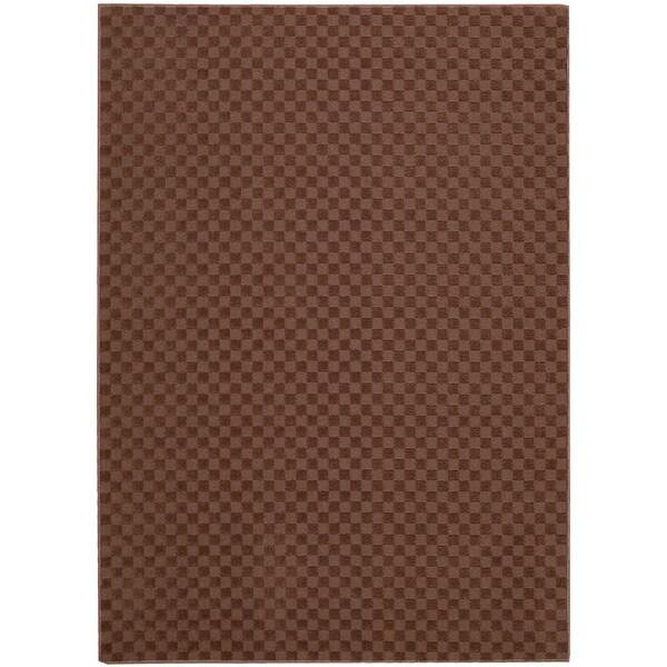 Nourison Living Necessities Hot Chocolate Rug (5' x 7')