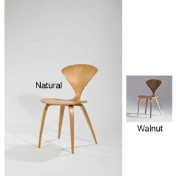 Walnut Wood Dining Chairs (Set of 2)