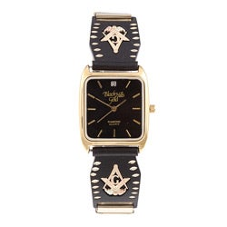 Black Hills Gold Mens Masonic Watch