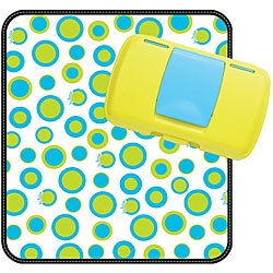 B.box Retro Circle Diaper Wallet and Changing Pad