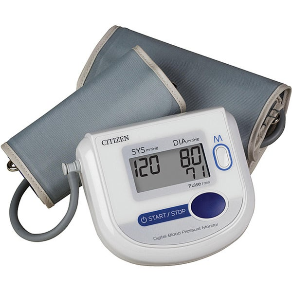 Citizen Arm Digital Blood Pressure Monitor with Adult and Large Adult Cuffs
