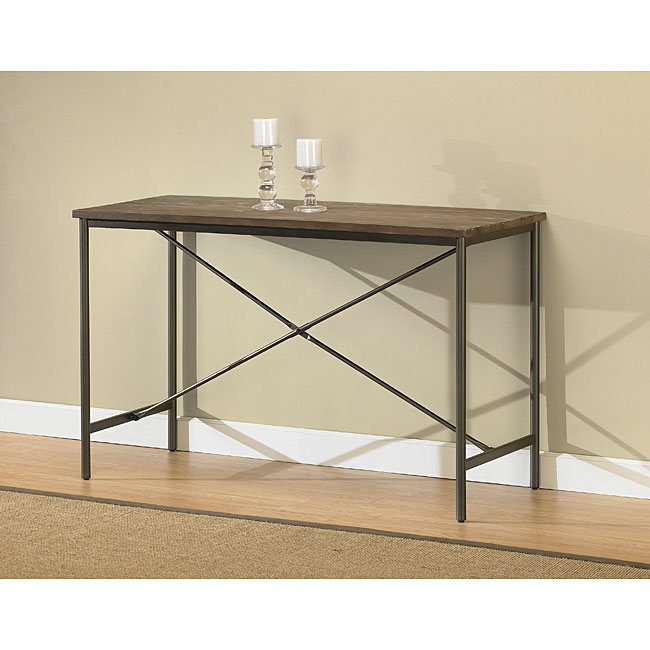 Elements Cross-design Grey Sofa Table at Sears.com