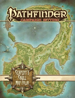 Pathfinder Campaign Setting: The Serpent's Skull Poster Map Folio (Paperback)